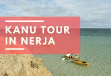 Kanu Tour in Nerja von Burriana nach Maro