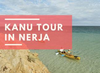 Kanu Tour in Nerja von Burriana nach Maro