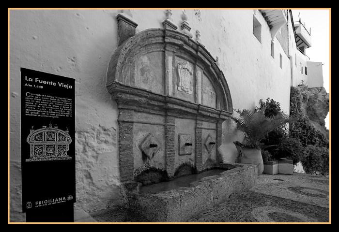 La fuente vieja Frigiliana
