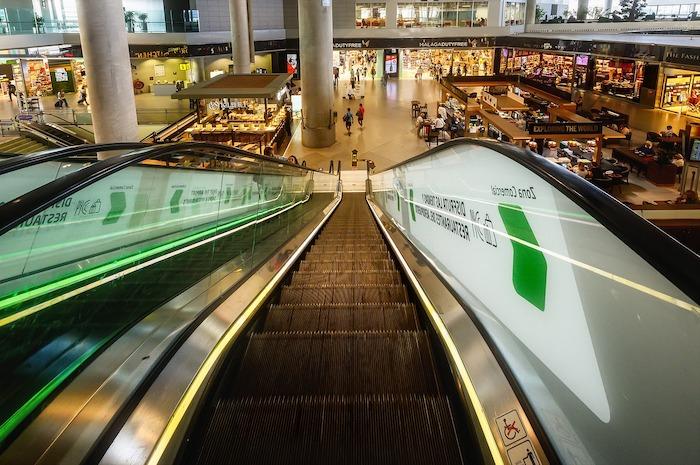 Terminal im Flughafen Malaga